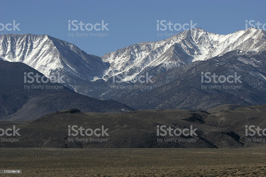 inyo mountains stock photo