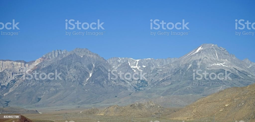 Inyo National Forest Granite stock photo
