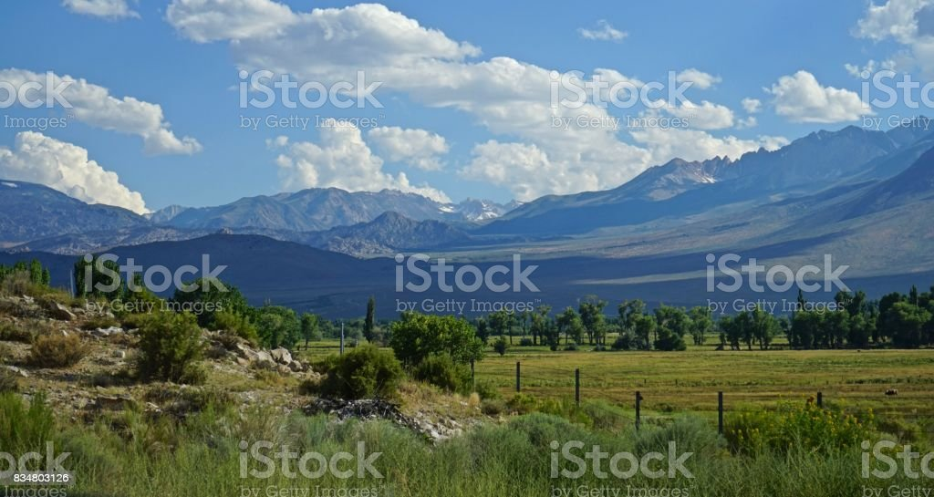 Inyo National Forest Sublime stock photo