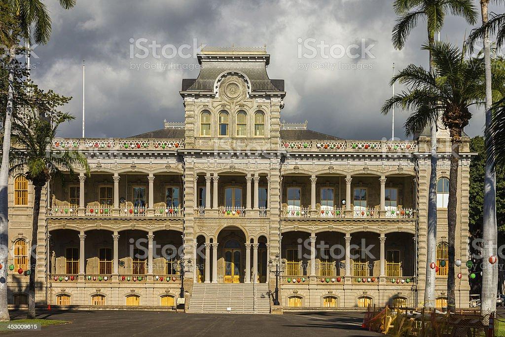 ʻIolani Palace stock photo