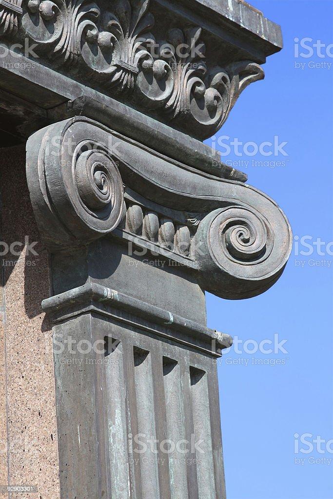 Ionic Column royalty-free stock photo