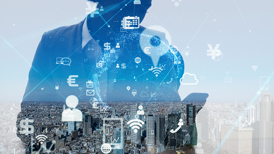 1054574034 istock photo IoT (Internet of Things) concept. Business and technology. 1154382570