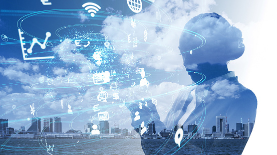 1054574034 istock photo IoT (Internet of Things) concept. Business and technology. 1154382595