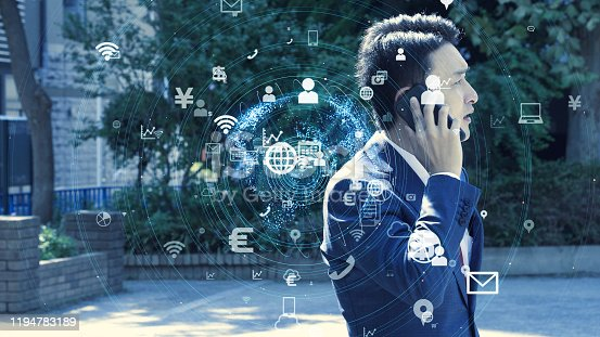479762254 istock photo IoT (Internet of Things) concept. Communication network. 1194783189
