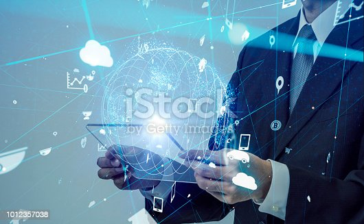 istock IoT (Internet of Things) concept. 1012357038