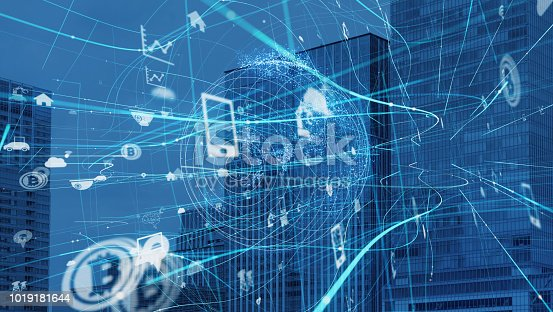 1019164310istockphoto IoT (Internet of Things) concept. 1019181644