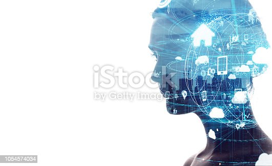 istock IoT (Internet of Things) concept. 1054574034
