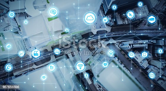 istock IoT(Internet of Things) concept. 957654566