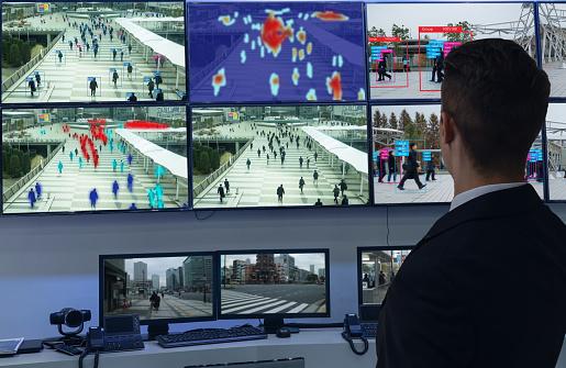 El Aprender De Máquina Iot Con Humanos Y Reconocimiento De Objetos Que Utilizan Inteligencia Artificial Para Las Mediciones Analítica E Idéntico Concepto Inventa A Estimación Predicción Clasificación Base De Datos Foto de stock y más banco de imágenes de Aprender