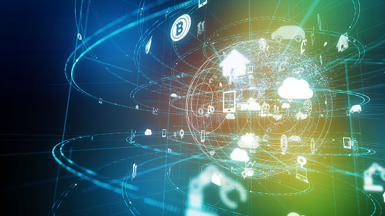 istock IoT (Internet of Things). 1054589734