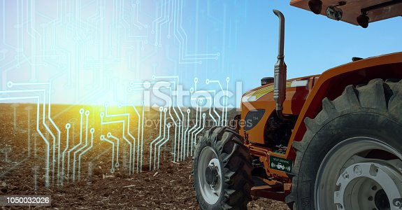 istock iot smart farming, agriculture in industry 4.0 technology with artificial intelligence and machine learning concept. it help to improve, categorized, specified goal, solve problem, keep goal, predict 1050032026