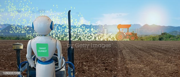 1127437312istockphoto iot smart farming, agriculture in industry 4.0 technology with artificial intelligence and machine learning concept. it help to improve, categorized, specified goal, solve problem, keep goal, predict 1050032038