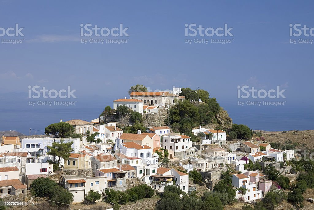 Ioulis, Kea Island, Greece stock photo
