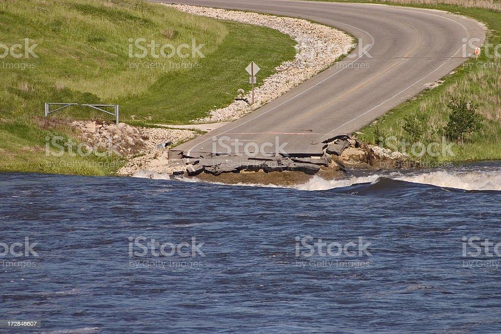Iowa Floods stock photo