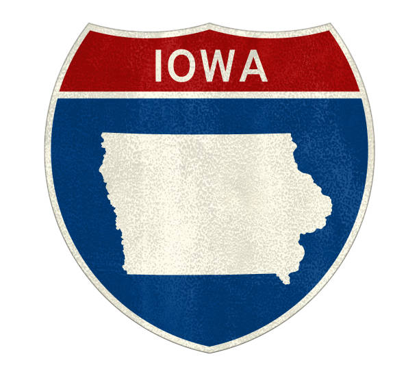 Verkehrszeichen Iowa – Foto