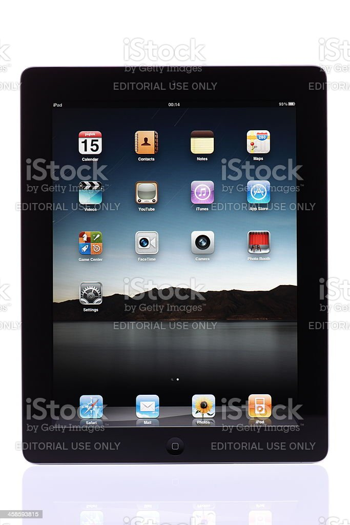 iPad 2 royalty-free stock photo