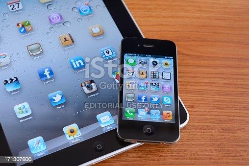 588359078istockphoto iPad and iPhone 4 171307600