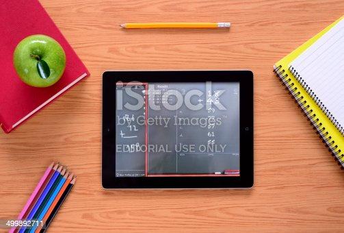 istock iPad at school 499892711