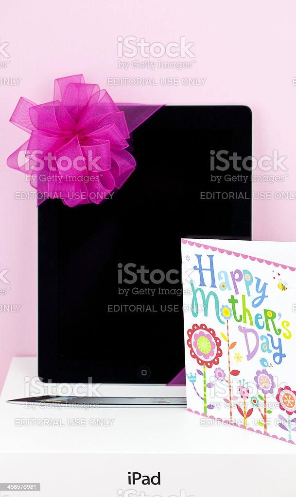 iPad for Mom royalty-free stock photo