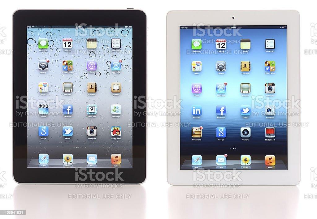 iPad & iPad3 royalty-free stock photo