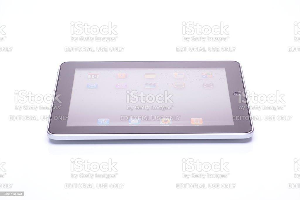 iPad Isolated on White stock photo