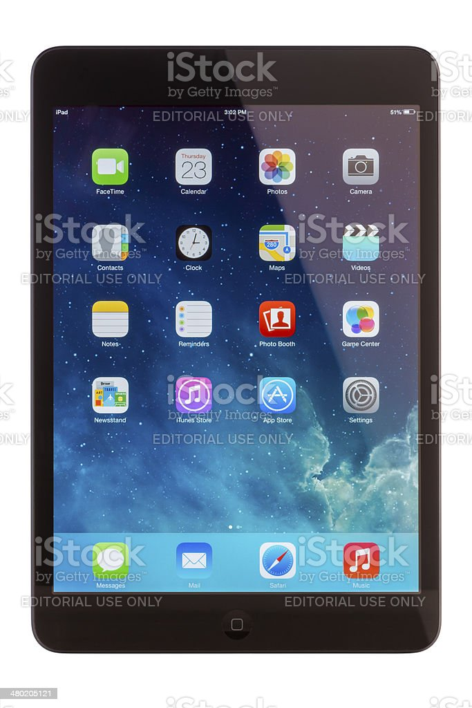 iPad Mini 2 royalty-free stock photo