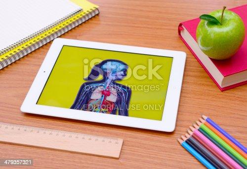 istock iPad tablet pc at school 479357321