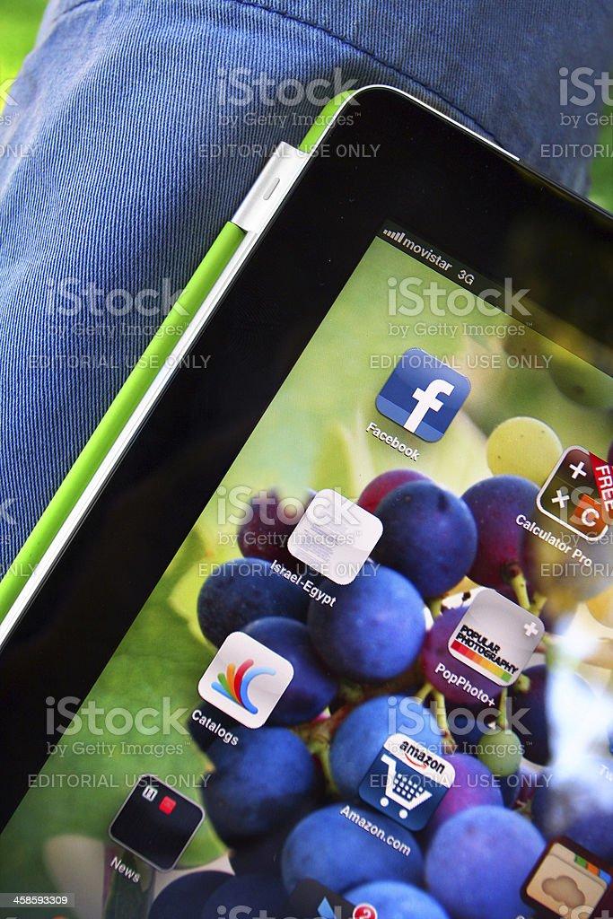 iPad2 royalty-free stock photo