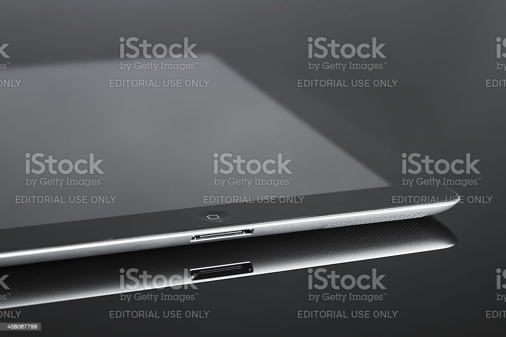 IPad3 Black royalty-free stock photo