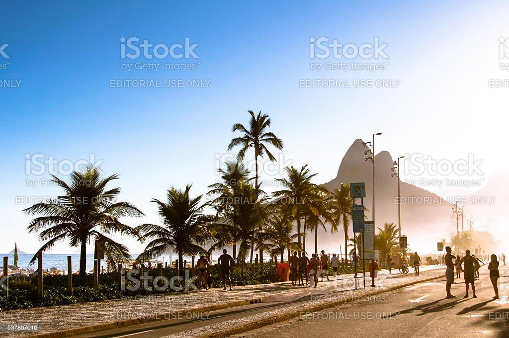 Praia de Ipanema - foto de acervo