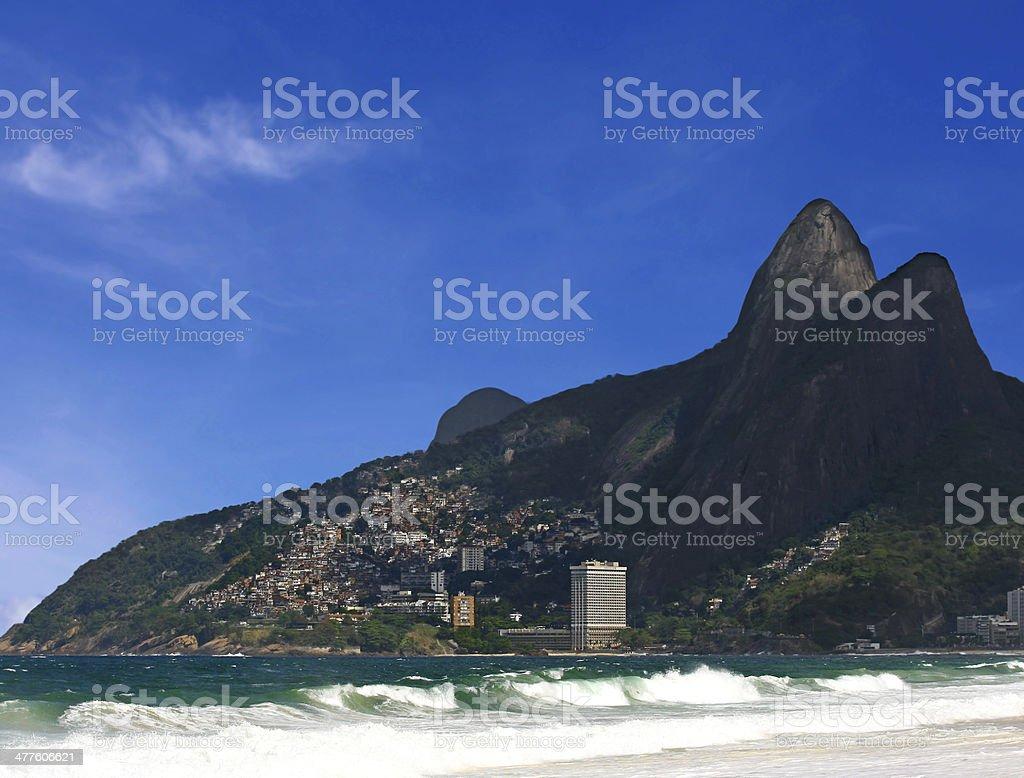 Ipanema Beach, Rio de Janeiro, Brazil. royalty-free stock photo