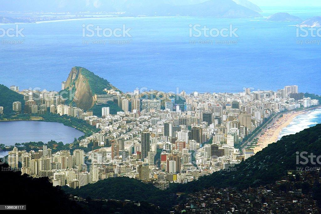 Ipanema in Rio de Janeiro royalty-free stock photo