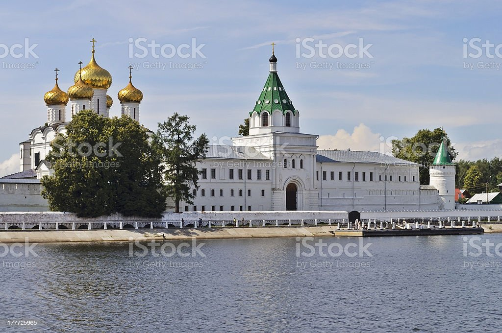 Ipatiev monastery, Russia royalty-free stock photo
