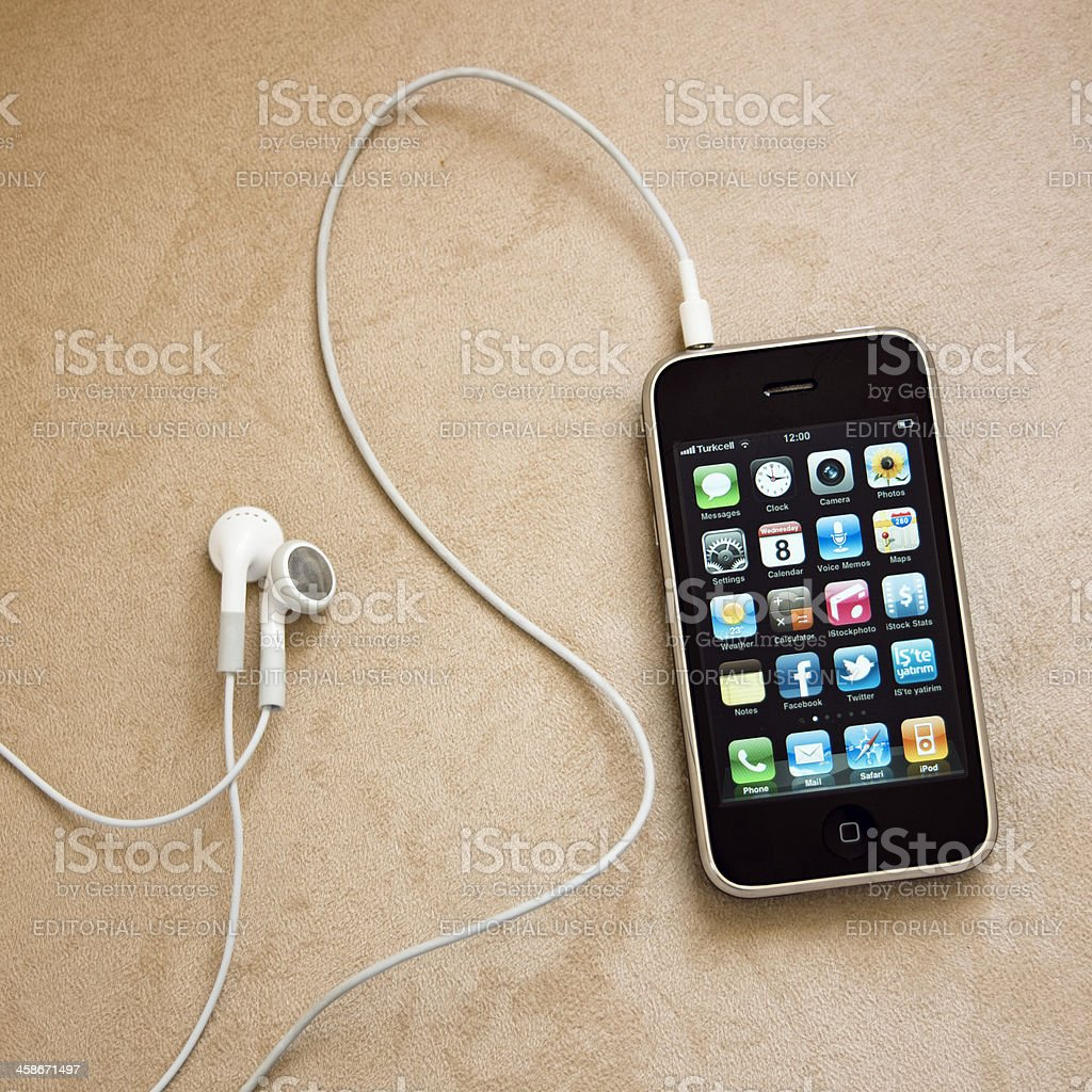iPhone 3Gs royalty-free stock photo
