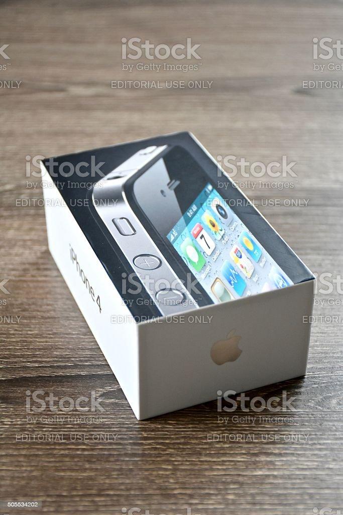 iPhone 4 stock photo