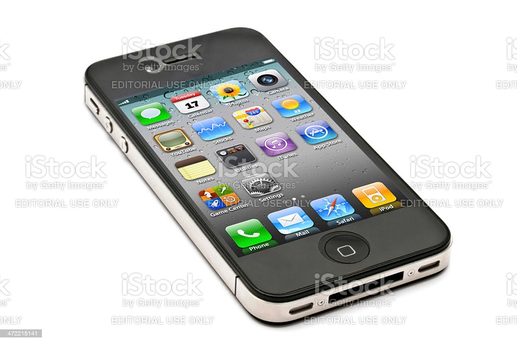 iPhone 4s stock photo