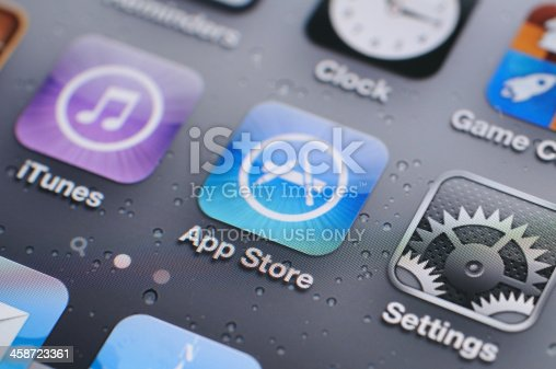 istock iPhone 4s screen 458723361