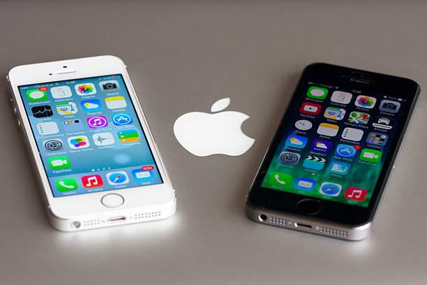 iPhone 5s stock photo