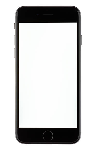 iphone 6 with a blank screen - number 8 stock pictures, royalty-free photos & images