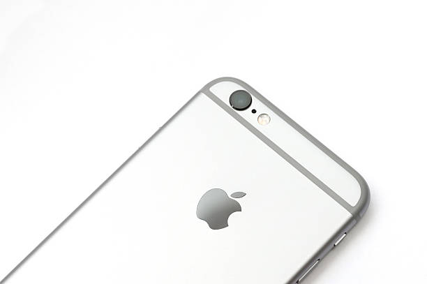 iPhone 6s detail view stock photo