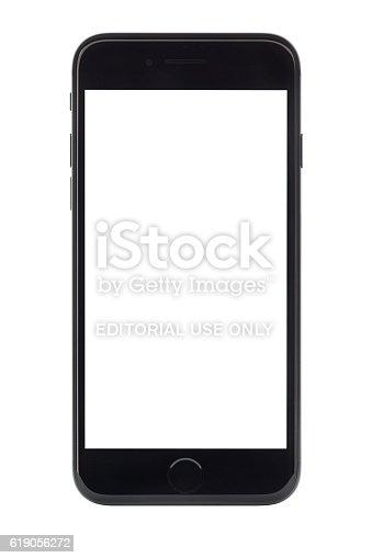 istock iPhone 7 with blank screen 619056272
