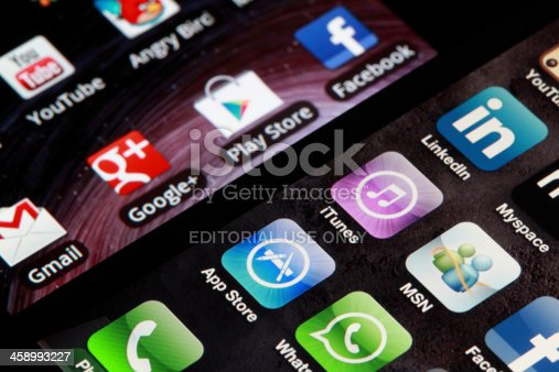 istock iphone and Android 458993227