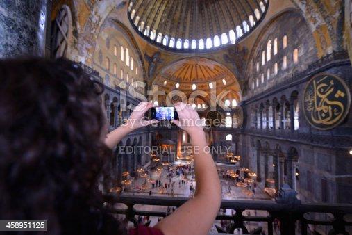istock iPhone photography - Hagia Sophia Museum 458951125