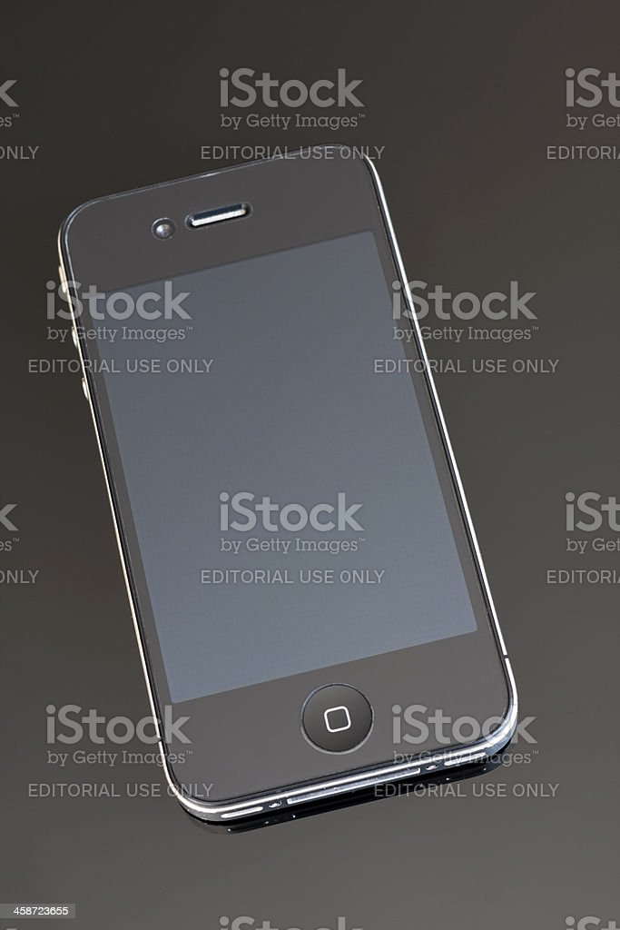 iPhone royalty-free stock photo