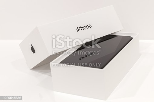 istock MOSCOW,RUSSIA 12 NOVEMBER, 2017: Iphone X smart phone 1029645636