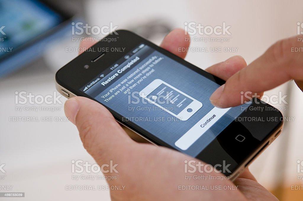iPhone4 stock photo