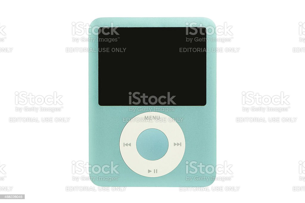 iPod nano 3G stock photo