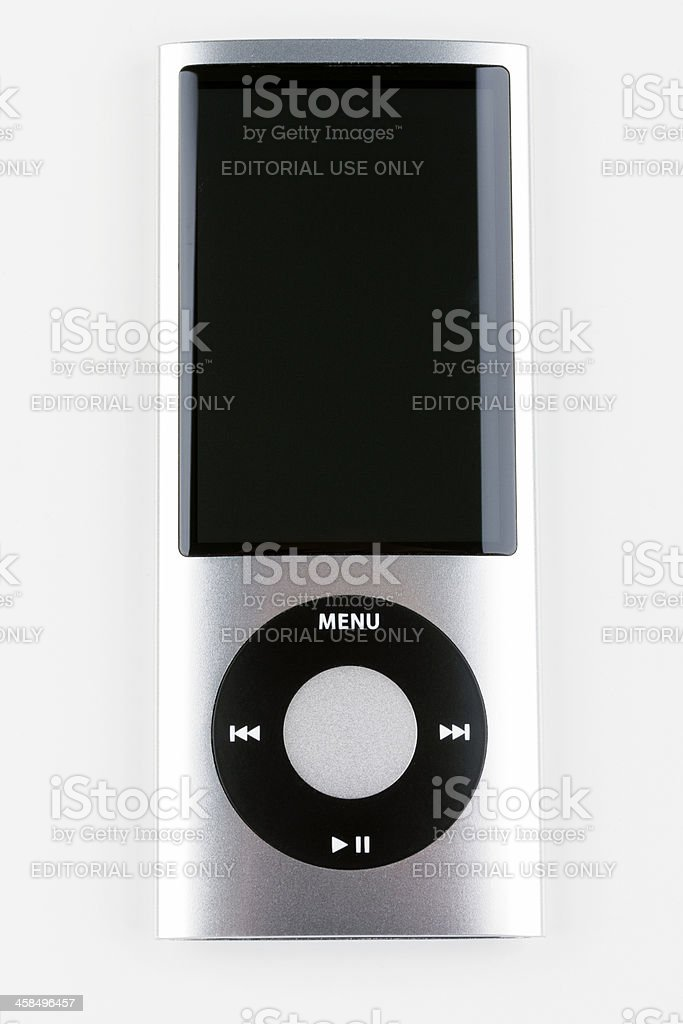 Ipod Nano 5th generation stock photo