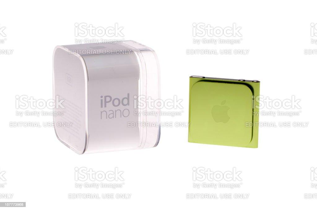 iPod Nano royalty-free stock photo
