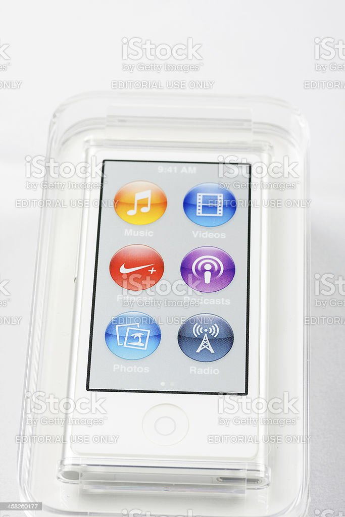 Ipod Nano stock photo
